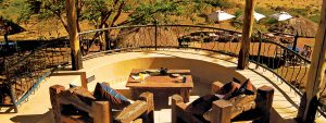 Serengeti Sopa Lodge - View over pool
